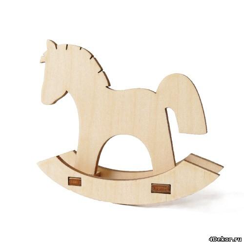 Лошадка качалка из фанеры